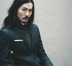 there is something haunting about this tailoring