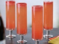 """Watermelon Margarita Mimosa - """"the dangerous thing is that you could drink about 30 of these"""" -thank you Bobby Flay"""