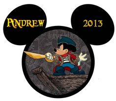 andrew pirate mickey ship