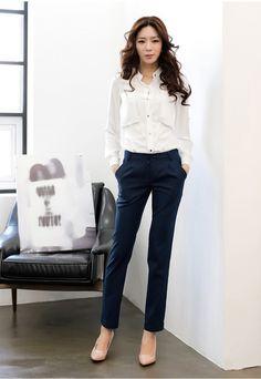 オフィスカジュアル30代40代のためのパンツファッション