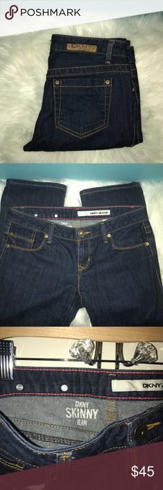 DKNY Skinny Jeans Length 33 inches. Skinny jeans. Size 28 which is equivalent to a size 6 Dkny Jeans