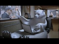 """CGI VFX Breakdowns HD: """"The Making of Canal + the Bear"""" by Mikros Image"""