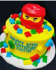 Lego Ninjago Cake                                                       …