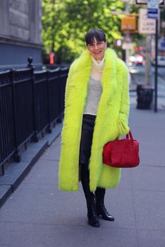 ADVANCED STYLE: Shocking Chartreuse