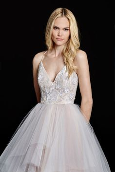 Bridal Gowns, Wedding Dresses by Hayley Paige - Style HP6560 - Nicoletta