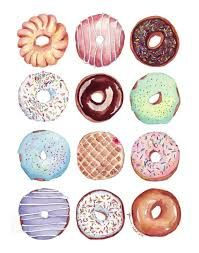 Image result for doughnut paintings
