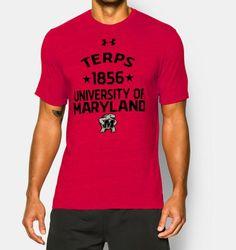 Men's Maryland UA Tri-Blend T-Shirt | Under Armour US