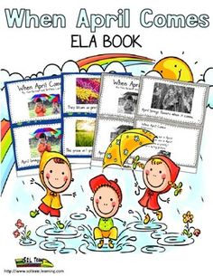 This cute WORD OF THE DAY ELA BOOK is perfect for teaching VOCABULARY. It is one of 5 books associated with our APRIL  calendar. Your kids can learn words like UMBRELLA, CLOUD and SHOWERS in a fun PIGGY BACK SONG format! These WORD OF THE DAY books make a great literacy center. The teacher guide explains how well our April calendar goes with these books. Included: -Color APRIL FOOLS DAY book -BW APRIL FOOLS DAY book -Lyrics for song -Mp3 acappella recording of the song - Teacher Guide