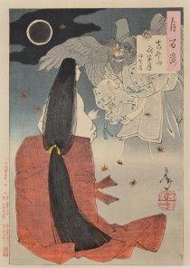 Mid Night Moon at Mt. Yoshino: Iga no Tsubone