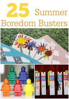 Keep the #kids entertained this #summer with these 25 boredom busters