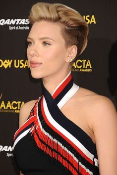 Saç kesimi on Pinterest   Scarlett Johansson, Kaley Cuoco and Haircuts