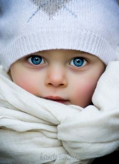 Junior blue eyes - 50 Examples of Cute Baby Photography  <3 <3