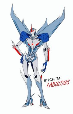 Transformers Prime Starscream in a nutshell.