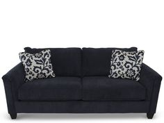 I'm in love with our navy sofa! Now I just need to find great things that work with it.