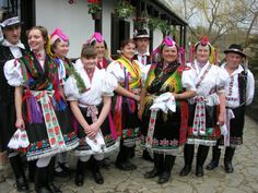 Nógrád county is the core of the Palóc ethnic region. In the streets of some old villages folk costumes are easy to spot. Many people have admired the varied and beautiful headdresses of the Palóc.