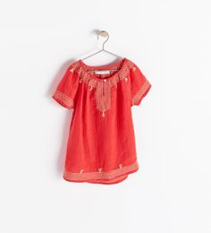 SHIRT WITH ETHNIC PRINT from Zara