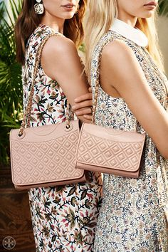 Meet the Fleming: Our new handbag collection — one signature shape, several sizes | Tory Burch Spring 2014