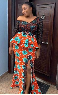 2020 Latest Trending And Classy Ankara Fashion Styles For Beautiful And Classy Styles To Check out African Wedding Dress, African Fashion Ankara, Latest African Fashion Dresses, African Dresses For Women, African Attire, Ankara Gown Styles, Ankara Dress, African Blouses, African Lace