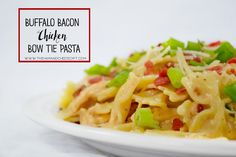 The Ham and Cheese of It : Buffalo Bacon Chicken Pasta