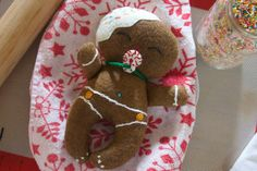 A personal favorite from my Etsy shop https://www.etsy.com/listing/489000051/gingerbread-baby-plush-christmas-doll-8