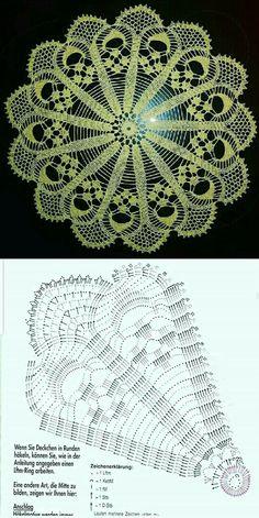 Joining Crochet Squares, Spiral Crochet, Crochet Doily Diagram, Crochet Motif Patterns, Crochet Art, Crochet Home, Crochet Doilies, Crochet Wall Hangings, Fillet Crochet