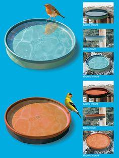 3-IN-1 Heated Bird Bath at SongbirdGarden.com
