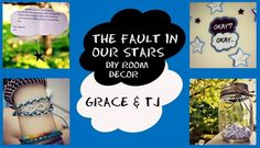 The Fault in Our Stars inspired Room Decor/ DIY crafts! ||Grace&TJ
