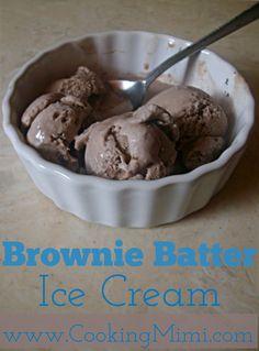Brownie Batter Ice Cream
