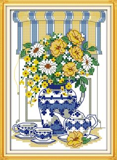 Arts,crafts & Sewing Trend Mark We Re Having A Break Cross Stitch Kit European Style 11ct Print Cotton Thread Embroidery Diy Handmade Needlework Decor Cartoon Easy And Simple To Handle Home & Garden