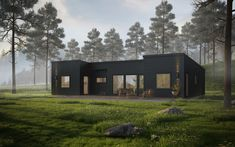 Fritidshus Sandhamn — VårgårdaHus Farmhouse Architecture, Beautiful Homes, Garage Doors, House Styles, Outdoor Decor, Inspiration, Home Decor, Houses, Scandinavian House