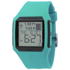 Rip Curl Maui Mini Tide Watch ($125) ❤ liked on Polyvore featuring jewelry, watches, rip curl watches, alarm watches, bow jewelry, sports watches and alarm wrist watch