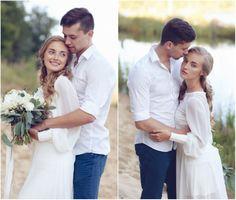 Фотосессия на песчаном карьере (Катя и Дима)