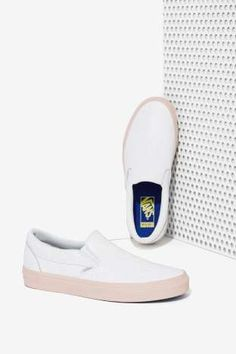 Nasty Gal x Vans Get Down Classic Leather Slip-On Sneaker