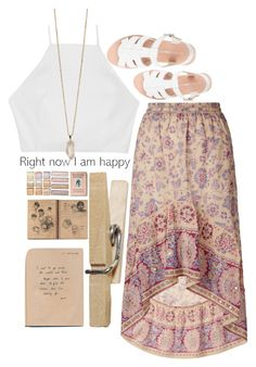 """pink boho // follow @tatumcoleman"" by kianahall ❤ liked on Polyvore featuring Monsoon, rag & bone, Zoya, women's clothing, women, female, woman, misses and juniors"