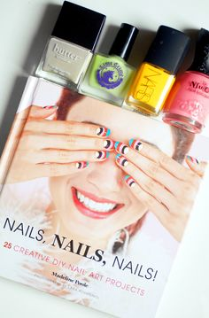 gotta have!!!...book with projects and the best of the best lacquers!!  also great gift!!  find brand NSU Oh (brand) got