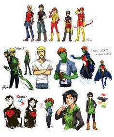 Genderbender Young Justice Artist Credit Wanted