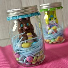Bunny in a Jar - great easy gift!