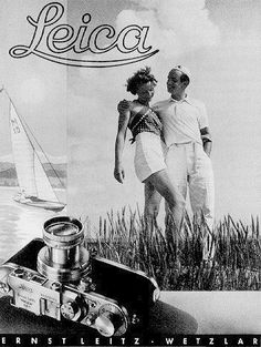 Advertisement for the Leica Camera