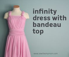 modest infinity dress tutorial