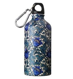 Victoria and Albert Museum Water Bottles, based on William Morris prints and textiles