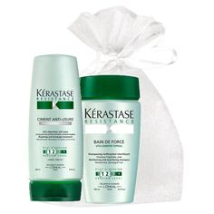 Kerastase Resistance Bain de Force   Ciment Anti Usure (Set) in an exquisit giftbox * Learn more by visiting the image link.