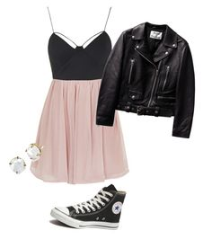 """Untitled #9"" by pnaegele on Polyvore featuring Topshop and Converse"