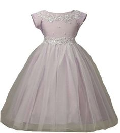 Amazon.com: Girls KID Collection New Princess Tulle Flower Girl Dress: Clothing