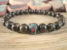 Tibetan Mala Bead Bracelet