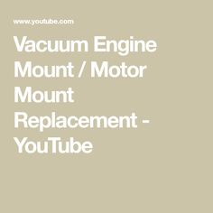 38 best auto repair images on pinterest volvo engine and motor engine vacuum engine mount motor mount replacement youtube fandeluxe Gallery