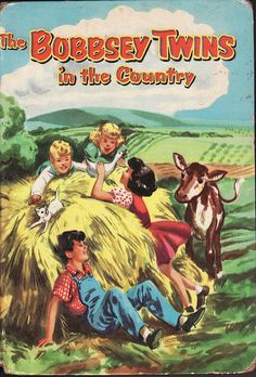 Loved, loved, loved the Bobbsey Twins!  This was the exact book me and my twin sister had. Loved it.