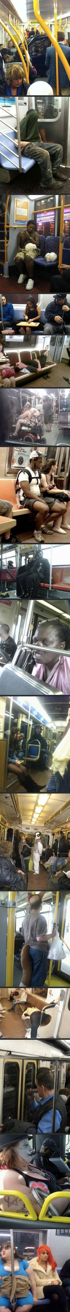Meanwhile, On Public Transport