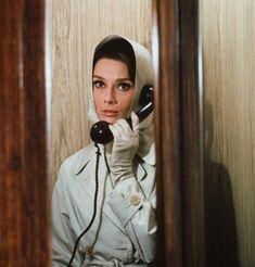 """Audrey Hepburn as Regina Lampert in """"Charade"""""""
