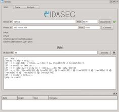 IDAsec - IDA plugin for reverse-engineering and dynamic interactions with the Binsec platform