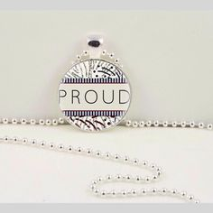 Where this pendant loud and proud.